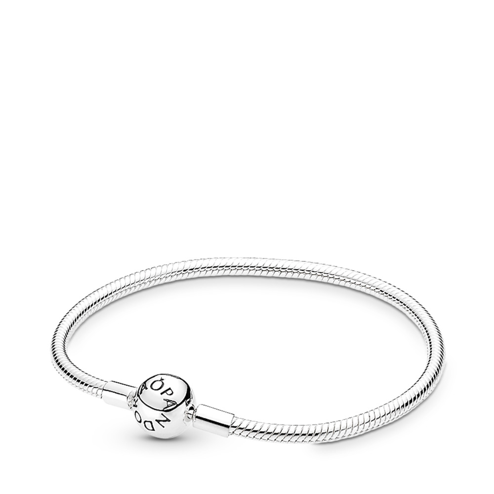 Bracelet Moments en Argent, Fermoir Signature PANDORA