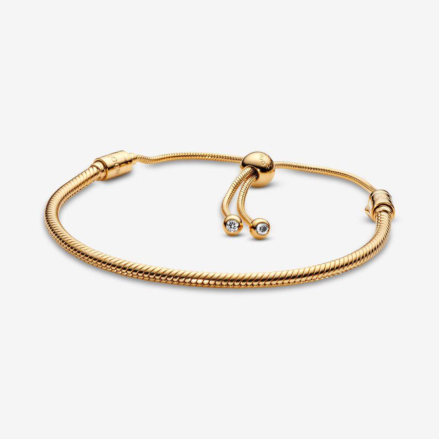 Bracelet Coulissant Maille Serpent Pandora Moments image number 0