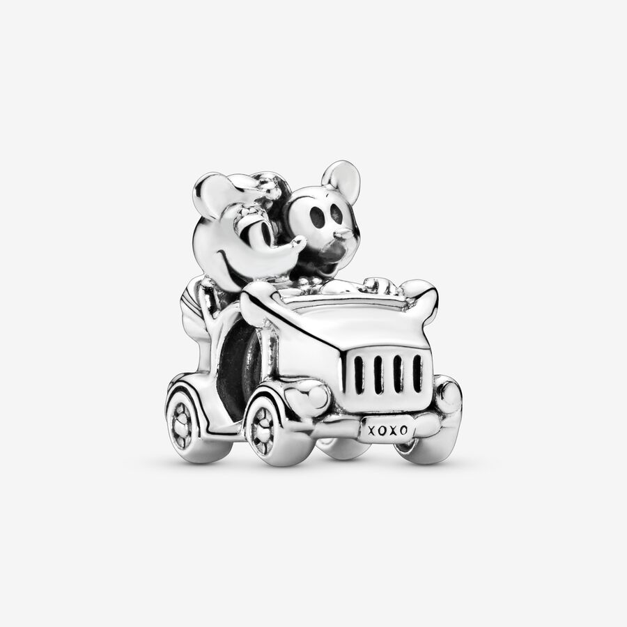 Charm Disney voiture de Minnie et Mickey image number 0