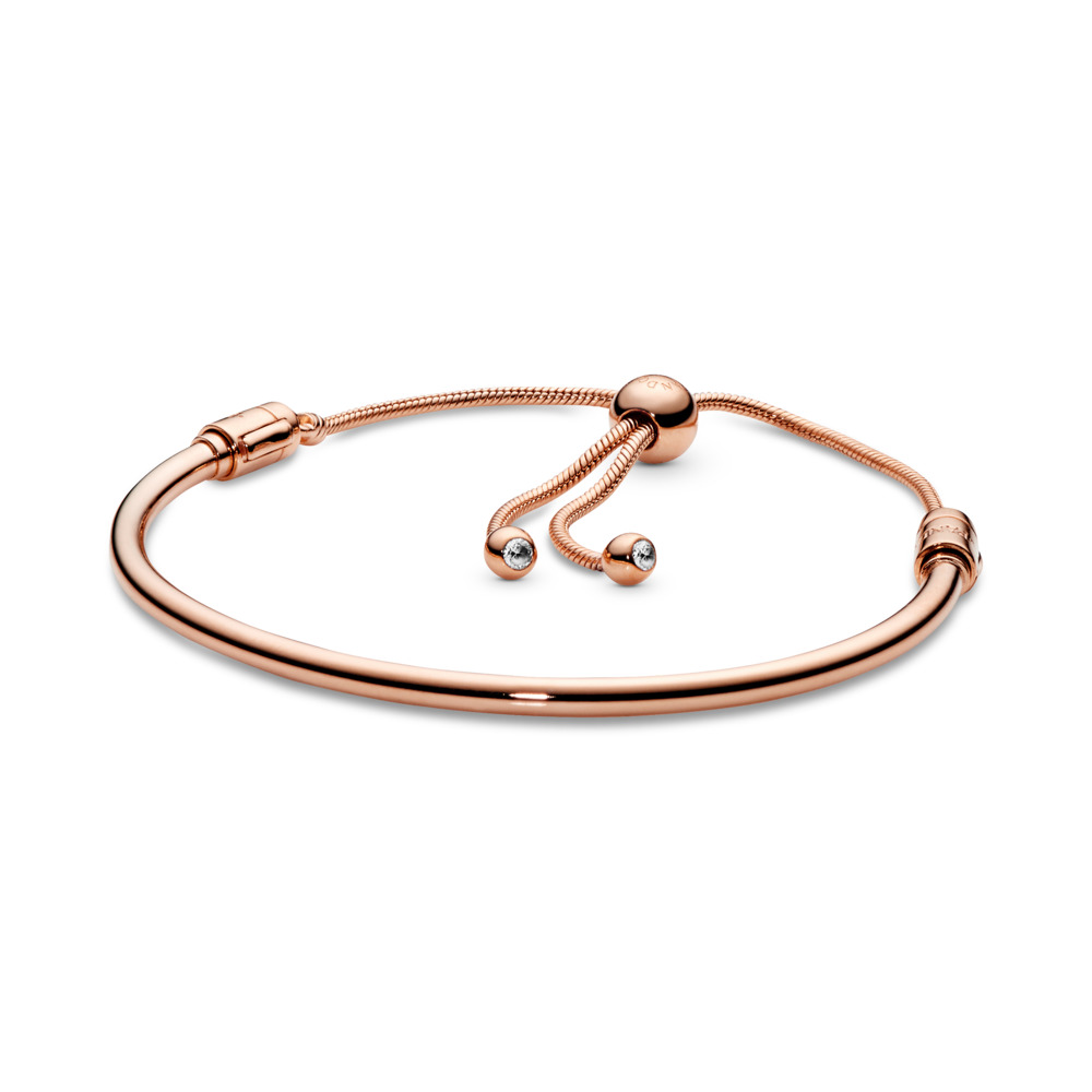 Jonc Coulissant Moments en PANDORA Rose