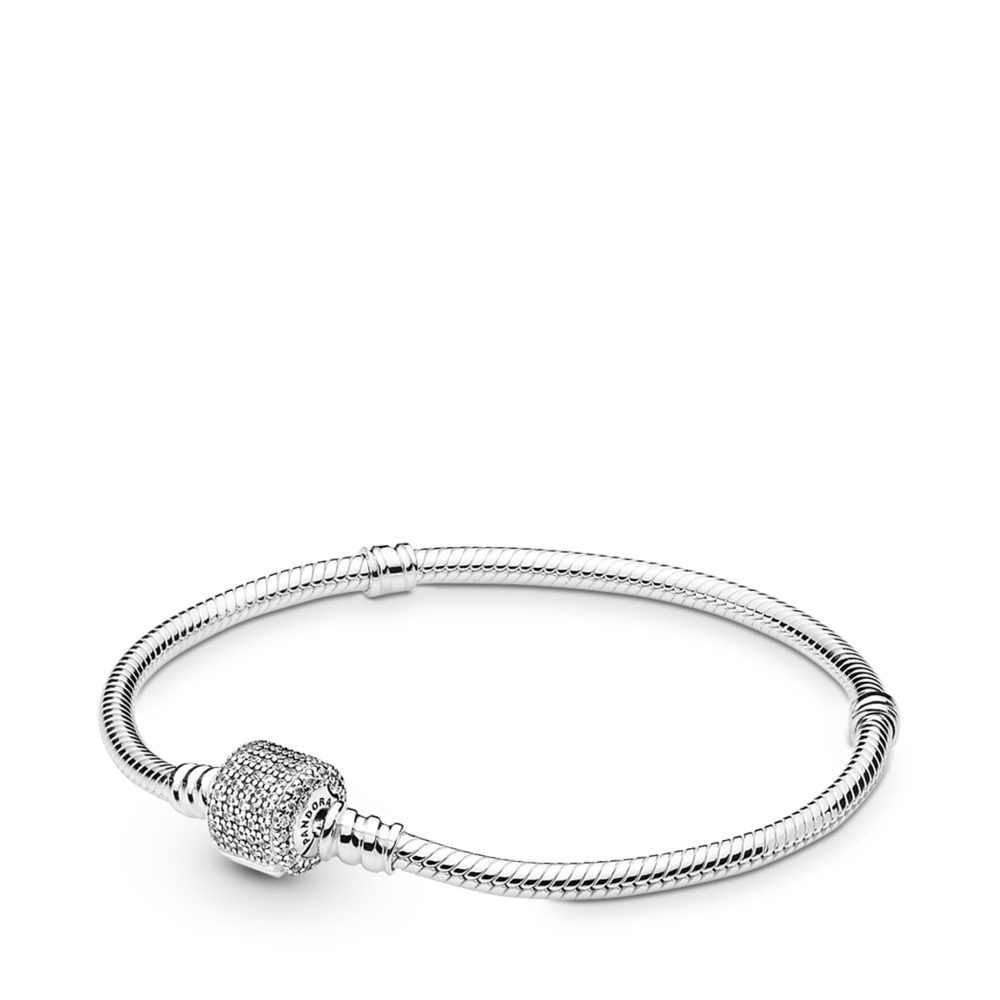 Bracelet Moments en Argent, Fermoir Signature